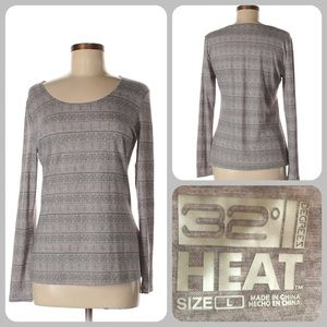 32 Degrees Heat Long Sleeve Active Top L